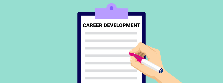 Help your employees progress with a career development template
