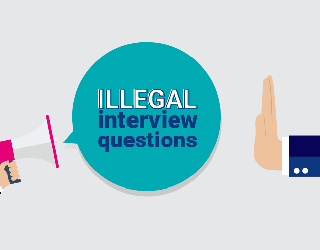 Can you ask that? illegal interview questions revealed