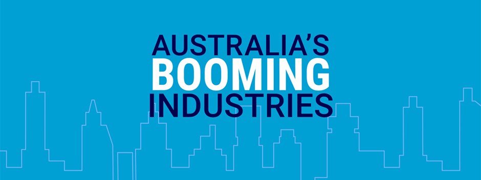 Revealed: Australia's booming industries