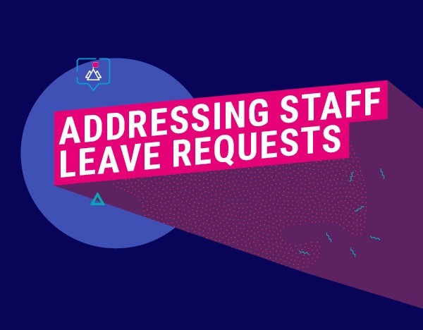 WATCH: How to manage staff leave requests