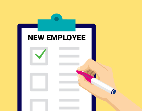 Get off to a great start with the new employee checklist