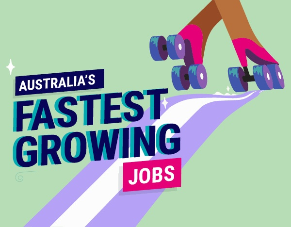 Australia's fastest growing jobs image