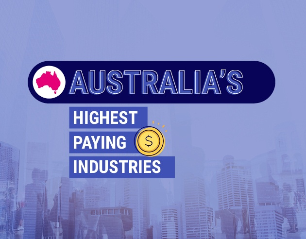 Australia's highest paying industries | 2018