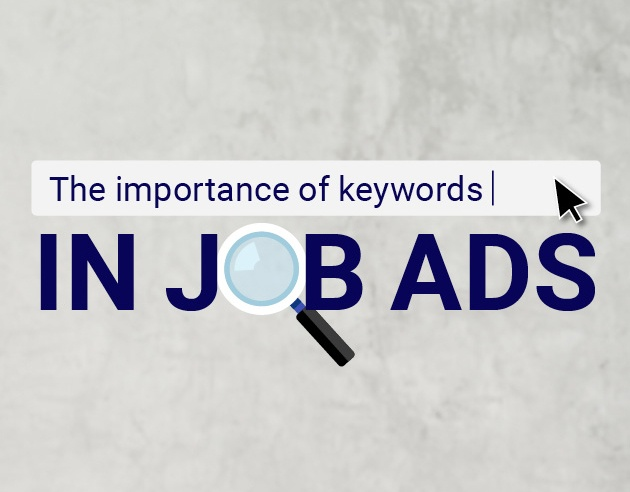 The importance of keywords in job ads
