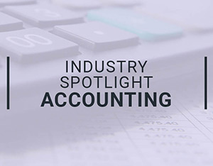 Industry spotlight on accounting