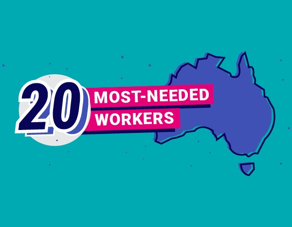 Australia's top 20 most-needed workers
